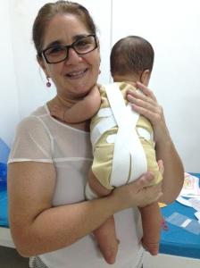 E depois toda feliz e orgulhosa da paciente dela =)